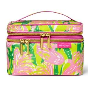 Lilly Pulitzer For Target Cosmetic Case Fan Dance